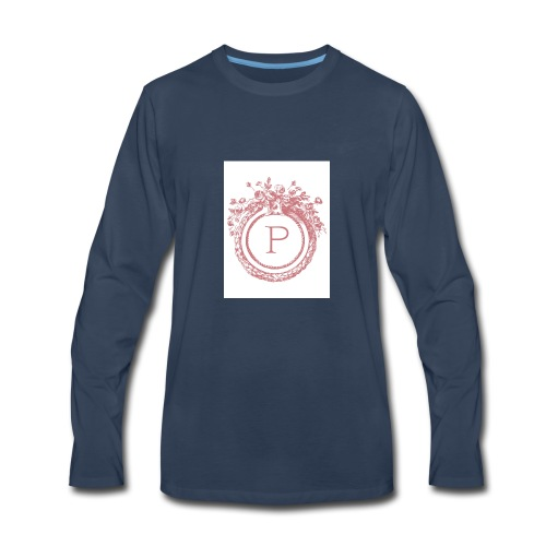 My inital makes me the person i am today - Men's Premium Long Sleeve T-Shirt