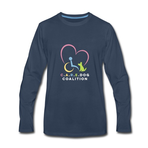 Simple CDC Logo - Men's Premium Long Sleeve T-Shirt