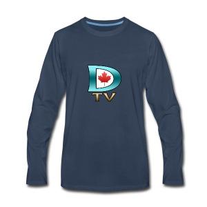 Dolynny TV Logo - Men's Premium Long Sleeve T-Shirt