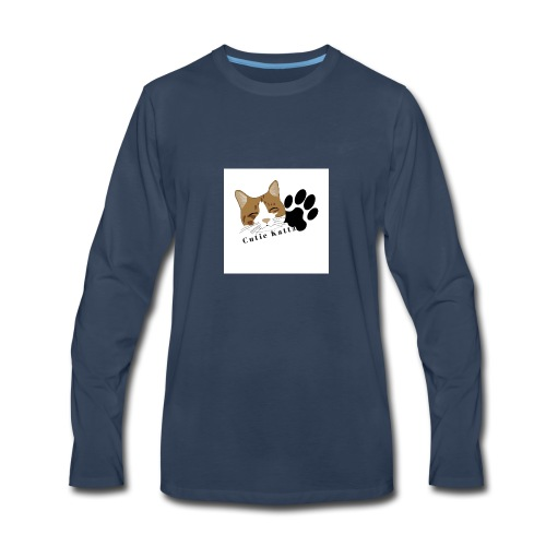 Cutie_Kattz - Men's Premium Long Sleeve T-Shirt