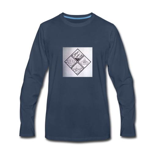 lifestyle - Men's Premium Long Sleeve T-Shirt