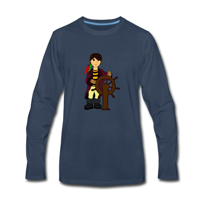 Alex the Great - Pirate - Men's Premium Long Sleeve T-Shirt