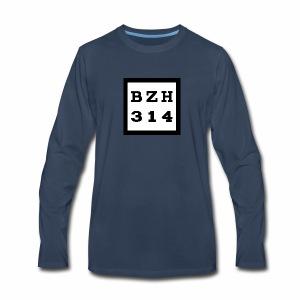 BZH314 Games Big Logo - Men's Premium Long Sleeve T-Shirt