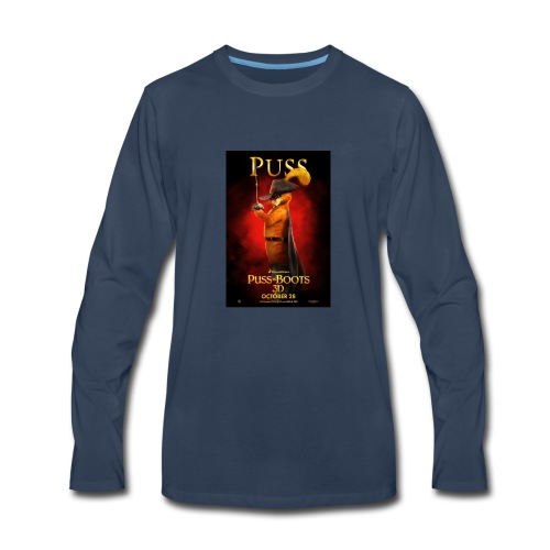 Puss in Boots - Men's Premium Long Sleeve T-Shirt