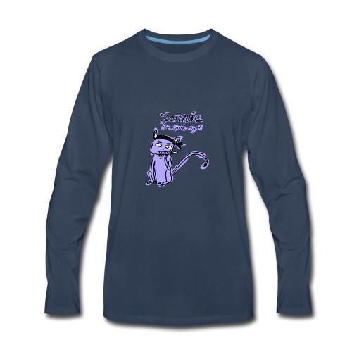 Lonnie_knifefight4000px - Men's Premium Long Sleeve T-Shirt
