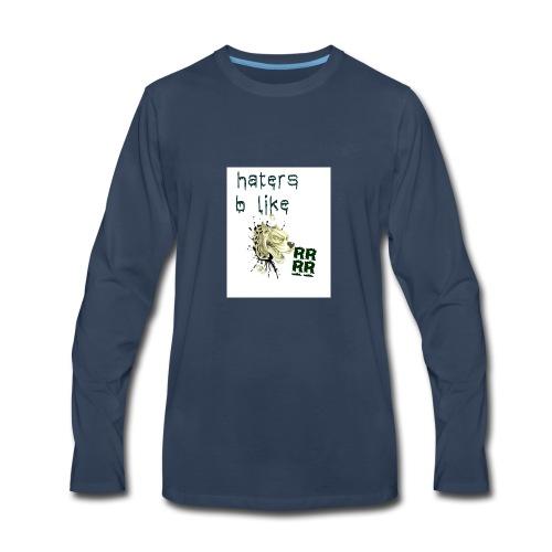 mind your business - Men's Premium Long Sleeve T-Shirt
