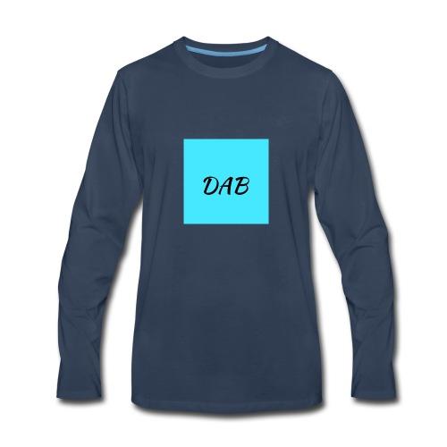 Ocean DAB - Men's Premium Long Sleeve T-Shirt