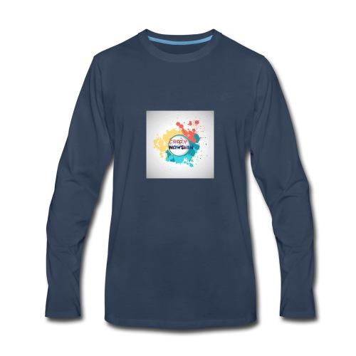 Be crazy - Men's Premium Long Sleeve T-Shirt