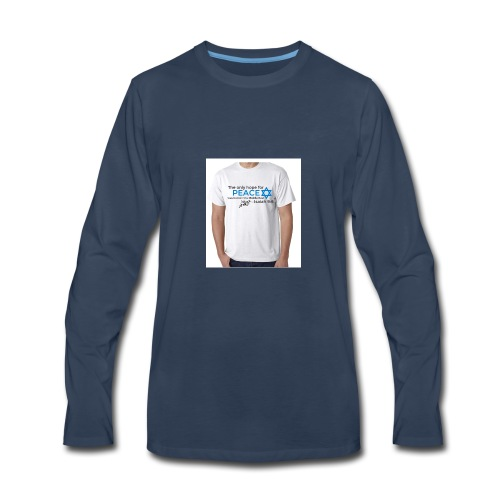 Star Of David*** - Men's Premium Long Sleeve T-Shirt