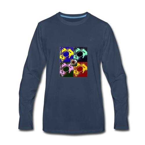 5 HEADED SHARK - Men's Premium Long Sleeve T-Shirt