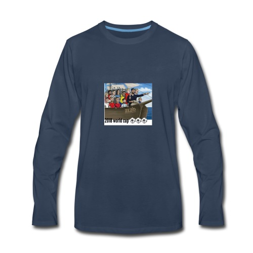 world cup - Men's Premium Long Sleeve T-Shirt