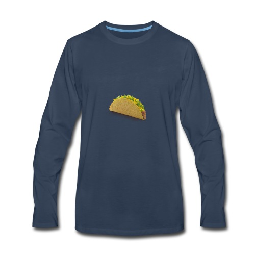 foodcrispybeeftaco - Men's Premium Long Sleeve T-Shirt