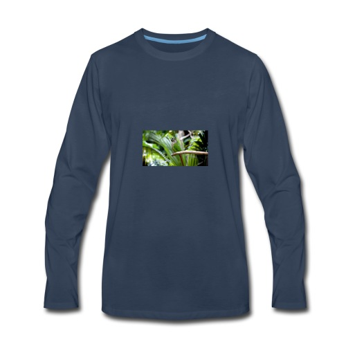 green cheek - Men's Premium Long Sleeve T-Shirt