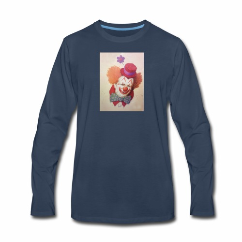 Old Clown Full - Men's Premium Long Sleeve T-Shirt