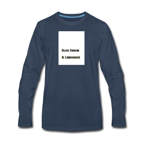 Blue Denim and Lemonade Brand - Men's Premium Long Sleeve T-Shirt