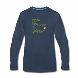 RoR Code 1 - Men's Premium Long Sleeve T-Shirt