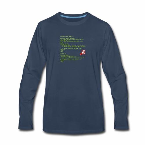 RoR Code 1 - Men's Premium Long Sleeve T-Shirt