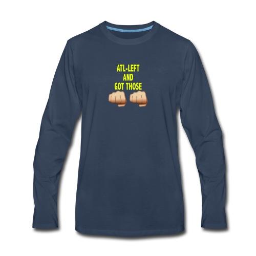 AltLeft Got Those Hands - Men's Premium Long Sleeve T-Shirt