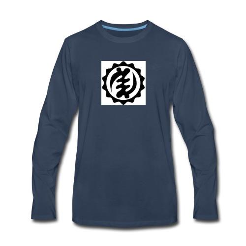 kente symbol - Men's Premium Long Sleeve T-Shirt