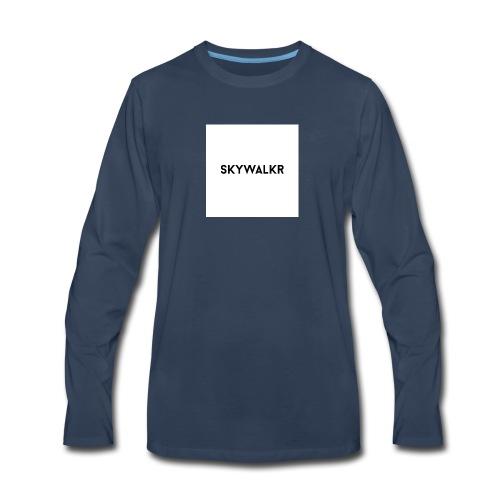 Skywalkr Logo - Men's Premium Long Sleeve T-Shirt