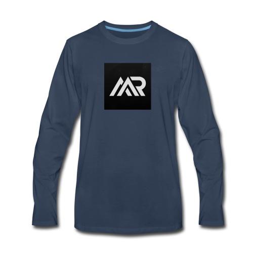 mr.miner logo - Men's Premium Long Sleeve T-Shirt