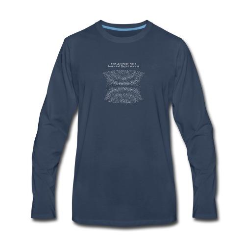 bendy - Men's Premium Long Sleeve T-Shirt