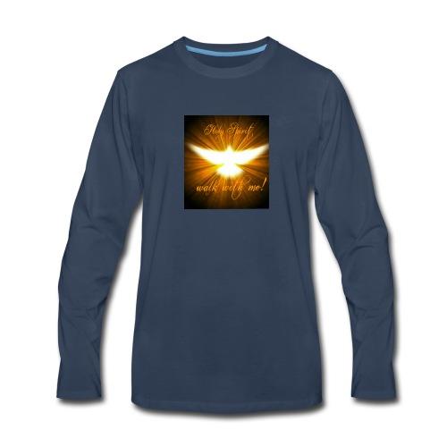 Holy Spirit walk with me! - Men's Premium Long Sleeve T-Shirt
