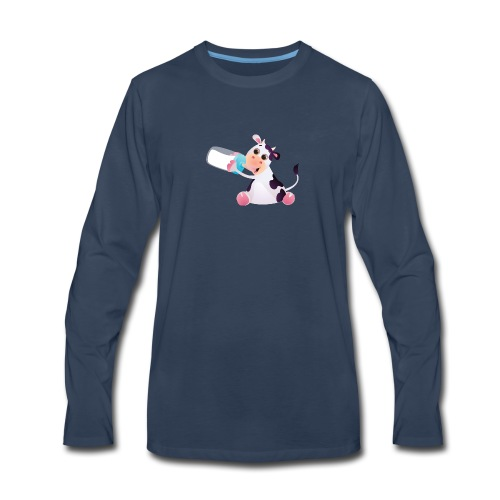 baby calf - Men's Premium Long Sleeve T-Shirt
