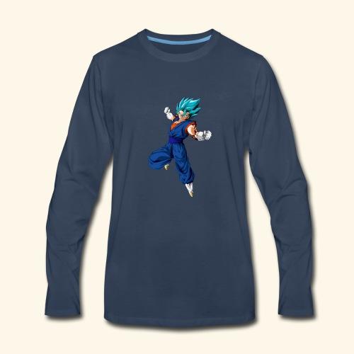 Vegito super saiyan blue - Men's Premium Long Sleeve T-Shirt