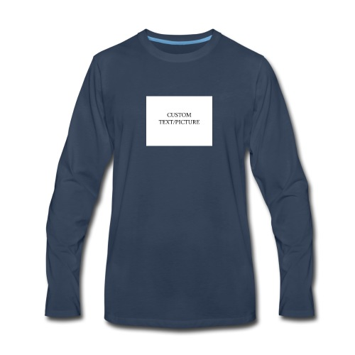 example - Men's Premium Long Sleeve T-Shirt
