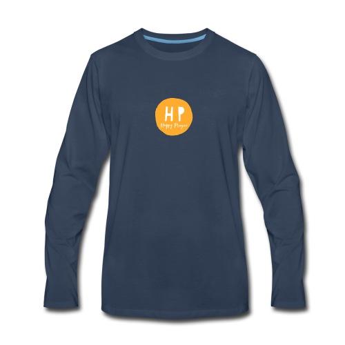 Happy Playces Logo - Men's Premium Long Sleeve T-Shirt