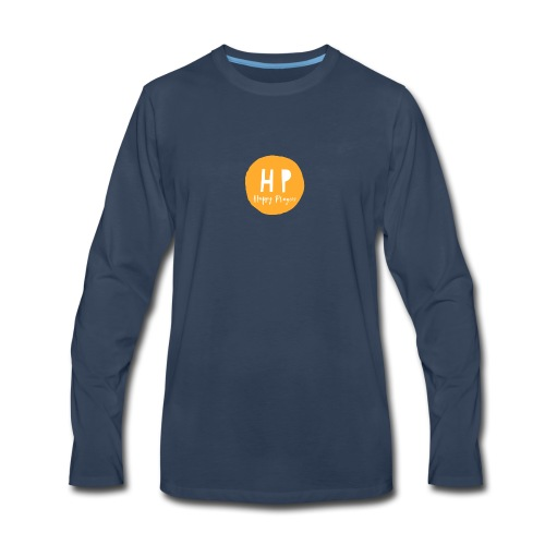 Happy Playces Logo - Men's Premium Long Sleeve T-Shirt