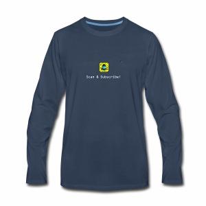 Scan & Subscribe - Men's Premium Long Sleeve T-Shirt
