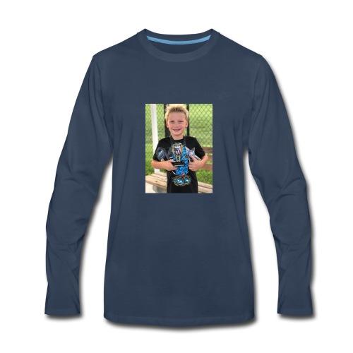 Jack swim shirt - Men's Premium Long Sleeve T-Shirt