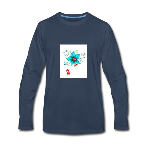 Blooms - Men's Premium Long Sleeve T-Shirt