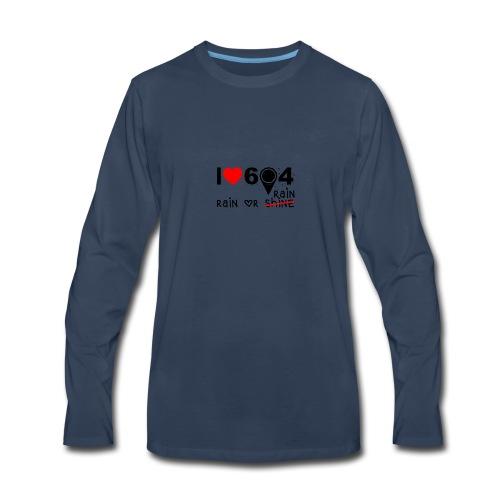 rain_or_shine - Men's Premium Long Sleeve T-Shirt