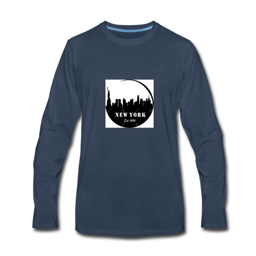 New york - Men's Premium Long Sleeve T-Shirt