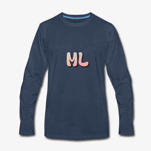 ML dot fade - Men's Premium Long Sleeve T-Shirt