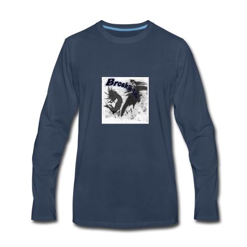 Broskie life 1 - Men's Premium Long Sleeve T-Shirt