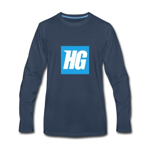 Hardcoregamer - Men's Premium Long Sleeve T-Shirt