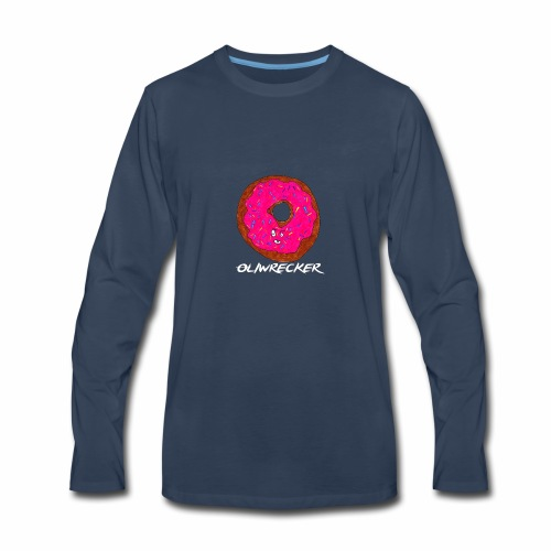 Doughnut Design - Men's Premium Long Sleeve T-Shirt