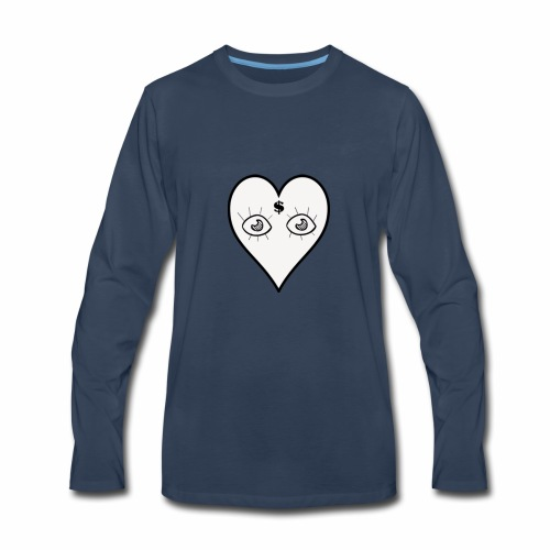 For the Love Of Money - Men's Premium Long Sleeve T-Shirt