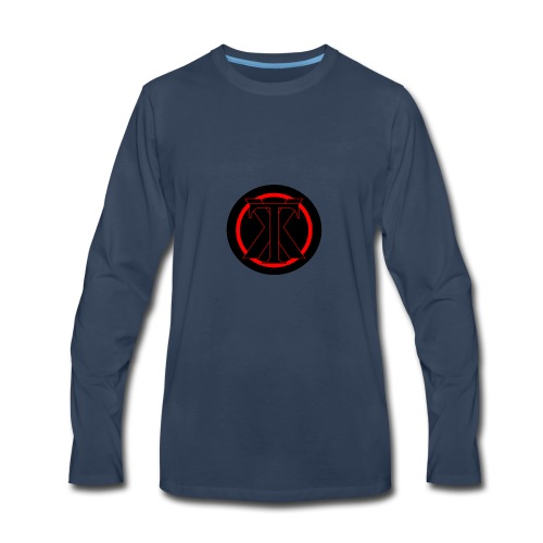 XenoTrader Logo New - Men's Premium Long Sleeve T-Shirt