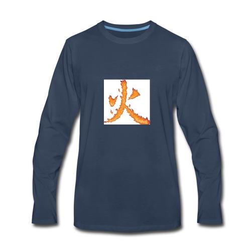Fire till da end come and get it - Men's Premium Long Sleeve T-Shirt