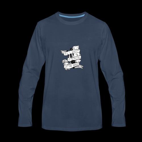 DOGS - Men's Premium Long Sleeve T-Shirt