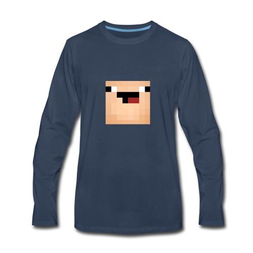 noob_-_Edited_-2- - Men's Premium Long Sleeve T-Shirt