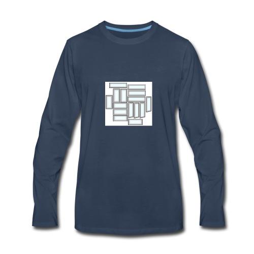 KD15 Logo - Men's Premium Long Sleeve T-Shirt