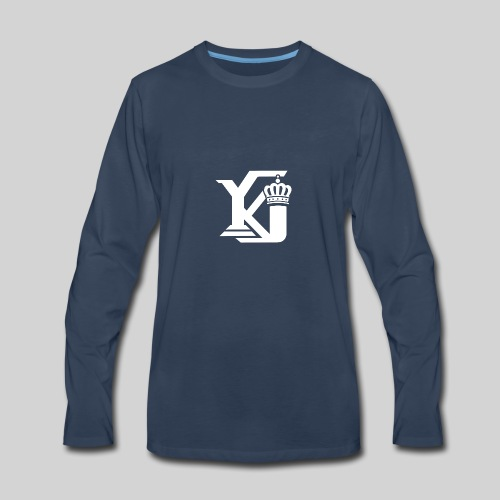 Evolve Sports Young King 17 - Men's Premium Long Sleeve T-Shirt