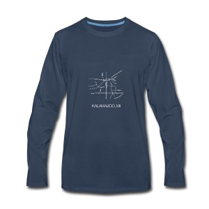 Kalamazoo, MI - Men's Premium Long Sleeve T-Shirt