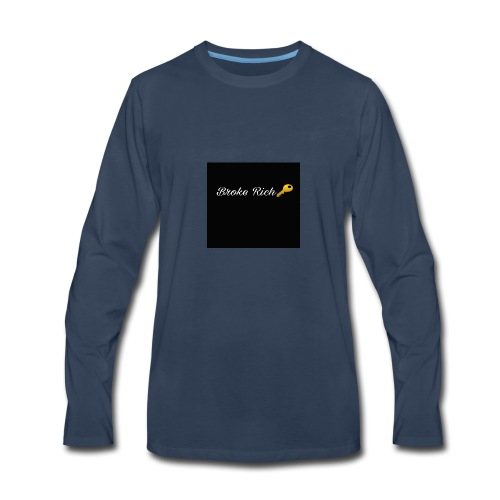 Broke Rich Adults - Men's Premium Long Sleeve T-Shirt
